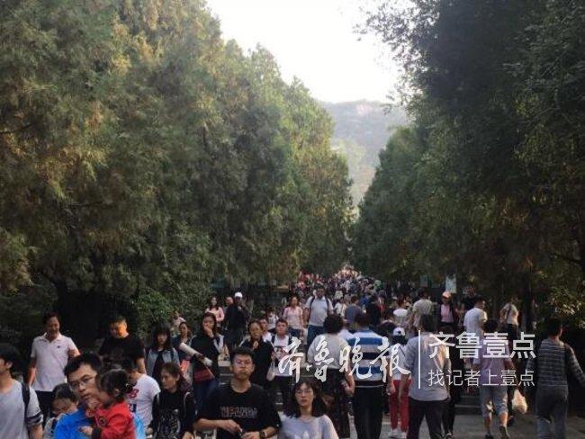 """单日5.1万人,国庆节济南千佛山""""民俗游""""受热捧"""