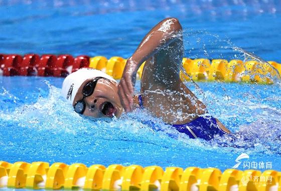中国游泳新突破!王简嘉禾破女400自短池世界纪录