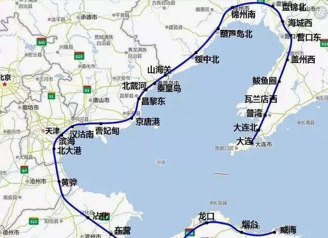 山东蓬莱港 定了!又一高铁将在烟台设站!投资600多亿元,今年开工!