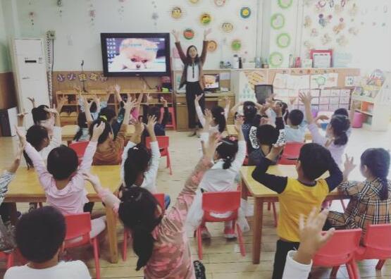 济南槐荫区实验幼儿园:家长进课堂,快乐共成长
