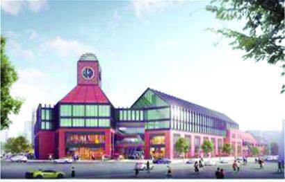 台东商圈将添大型购物中心 正在进行环评公示(图)