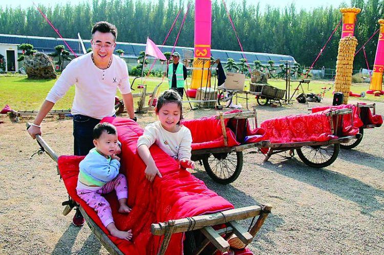 国庆长假,莱芜市乡村旅游受青睐