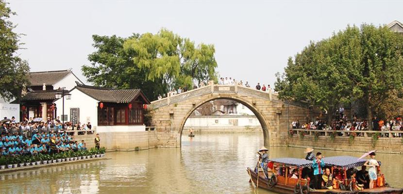 """苏州举办""""诗泊枫桥""""实景诗词赛"""