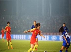 中国女足2:0胜泰国女足 获永川国际女足锦标赛冠军