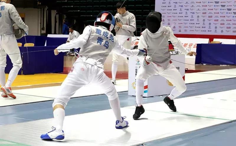 省运会击剑比赛顺利开赛 首日决出6枚金牌