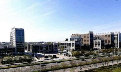 淄博齐鲁电商谷三期产业园区投入使用