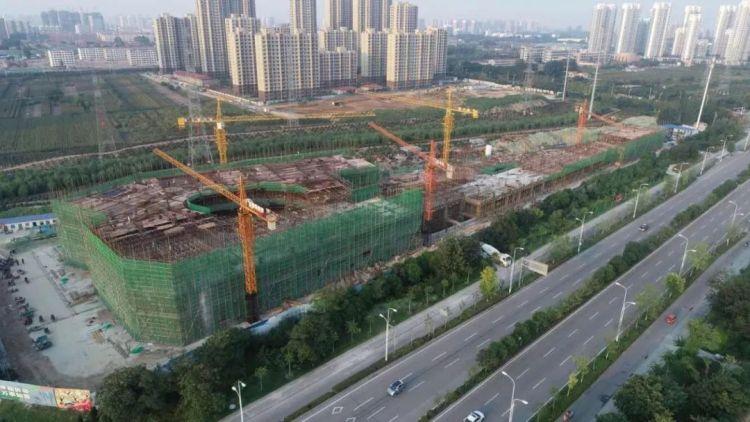 京杭农贸市场年底主体完工