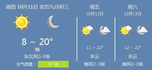 济宁今日最低气温8度,你穿秋裤了吗?
