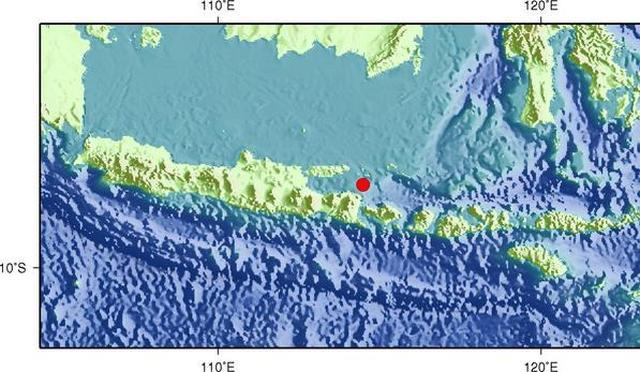 印尼再遇强震 至少三死四伤