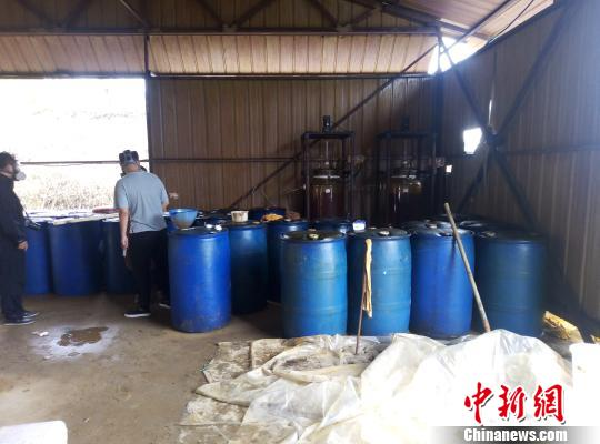 辽宁公安成功破获特大制毒工厂涉案价值近亿元