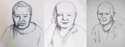 高二女生为癌症病人画画,却没想到……