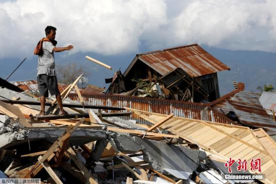印尼地震海啸已致死2073人 搜救行动结束