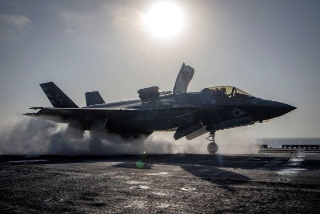 美国F-35战机因油管问题全部暂时停飞