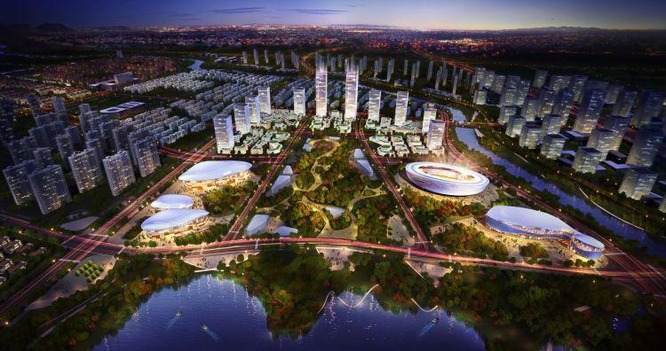 发展高端产业建居职平衡社区,孙村打造产业型次中心