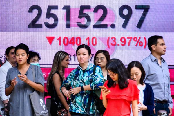 海外媒体:美股暴跌引发全球风暴 金融市场现抛售狂潮
