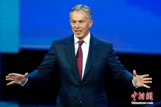 英前首相布莱尔:再次举行脱欧公投的机率有50%