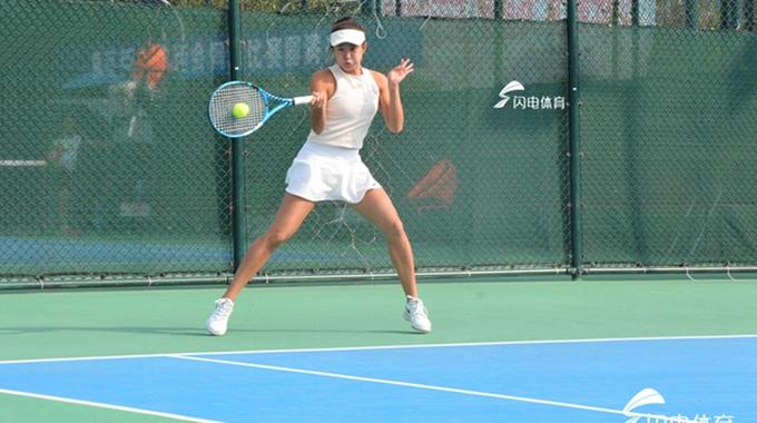 跃动齐鲁看省运·组图:网球王子真人版!你打球的样子真的好酷