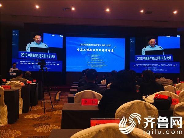 """""""中国海洋生态文明(长岛)论坛"""" 举行引聚高层智库专家""""论道"""""""
