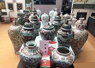 德州窑红绿彩瓷器将色彩洒满文博会