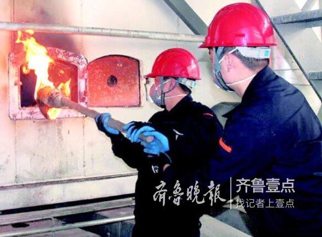 为今冬供暖做充足准备,济南各热企已开始点火烘炉啦