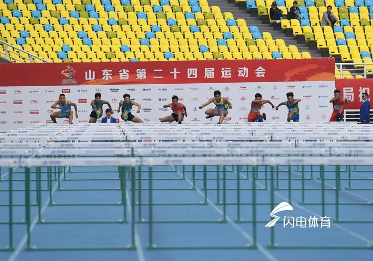 跃动齐鲁看省运·淄博小伙110米栏夺冠 偶像刘翔是动力