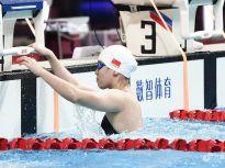 全国游泳锦标赛女子50米仰泳 傅园慧破28秒夺冠