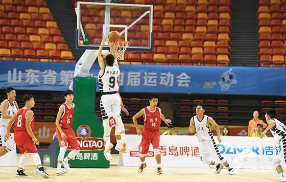 """省运会男篮""""?#20204;唷被?#24072;决赛 两队少帅都想争第一"""