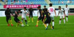 """国足U17红队等四支球队淄博""""论剑"""""""