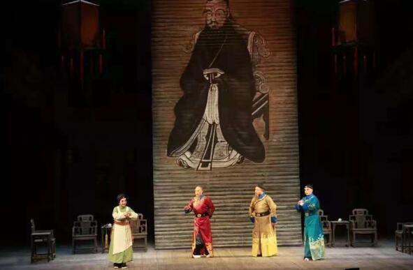 聊城:山东梆子《海源阁》备战山艺节