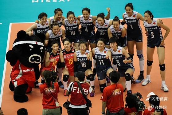 朱婷19分中国女排3-1荷兰 小组头名进4强战意大利