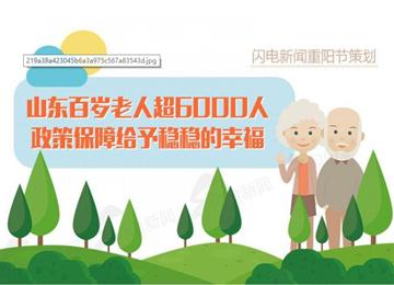 图解重阳节 | 山东百岁老人超6000人 来看哪里最多?