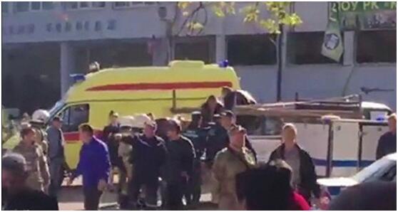 克里米亚官员:爆炸案嫌疑人一人作案 一直品学兼优
