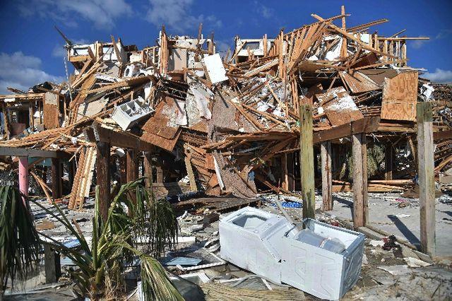 """美国飓风""""迈克尔""""致死人数上升"""