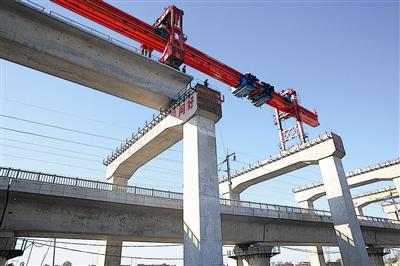省内首个此类项目!潍莱高铁成功跨越济青高铁