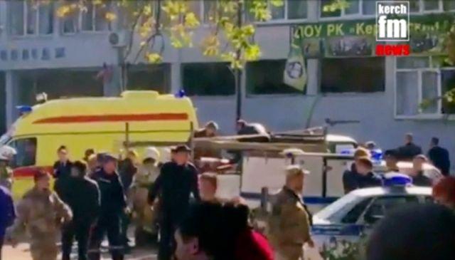 17人死亡 克里米亚一学校现群体死伤事件