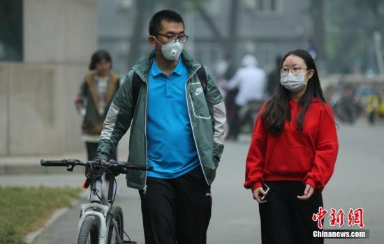 今起华北黄淮等地有轻到中度霾 局地部分时段重度霾