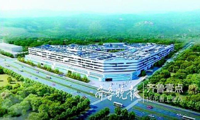 能停6000辆车!济南万达文旅城停车楼等3项目批前公示