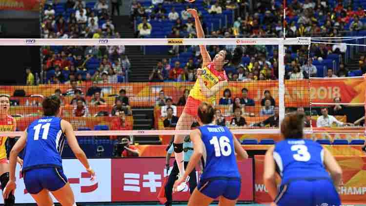 拼死救5赛点!中国女排2-3惜败意大利无缘决赛