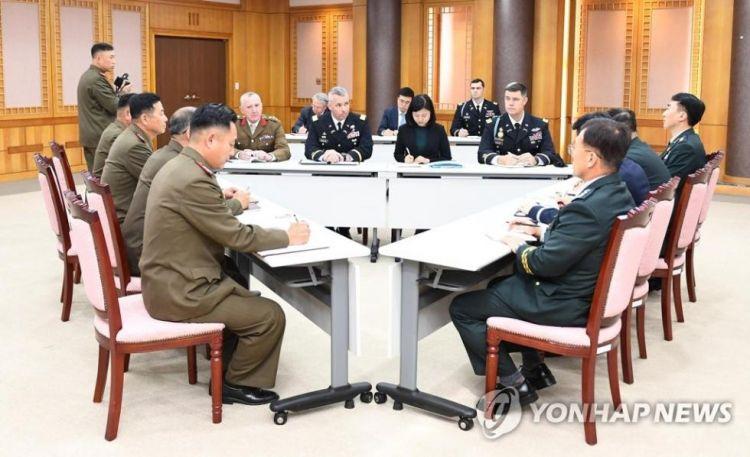 """朝韩和""""联合国军司令部""""再开会 商讨解除武装事宜"""