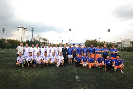 第三届山大青大医学校友足球联谊赛岛城精彩上演