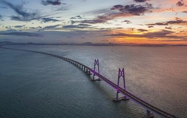 港珠澳大桥通车在即 一大波美图先睹为快
