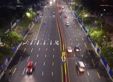淄博柳泉路城区段改造完成 道路标杆 从此南北更畅行