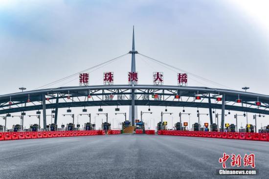 香港货车业盼11月起从港珠澳大桥行驶 每日达300辆