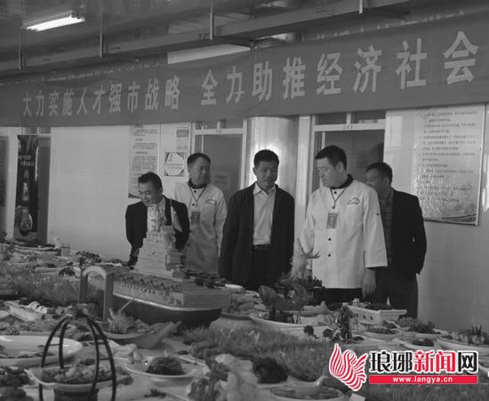 临沂劳动之星餐饮技能竞赛举行 400多人参加竞赛