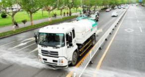 淄博35条道路获评深度保洁示范路