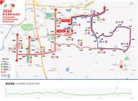 2018枣庄国际马拉松开跑倒计时5天|赛道路线图发布