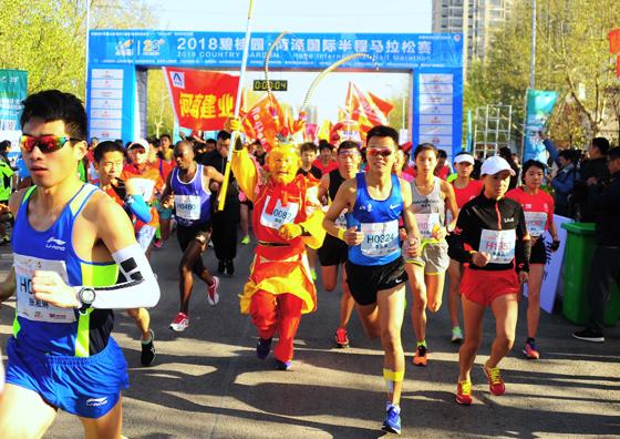 菏泽(东明)黄河生态马拉松周日开跑