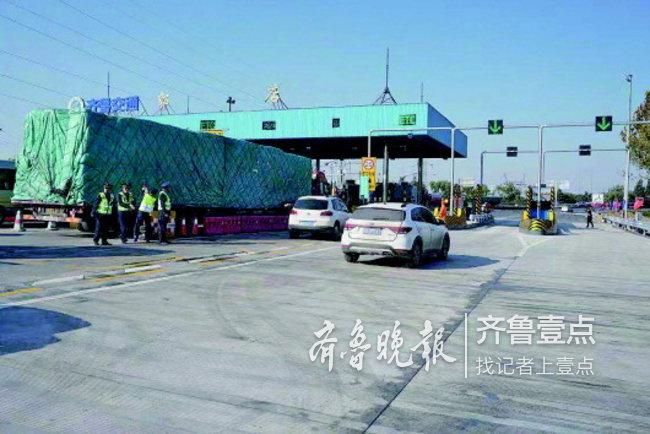 缓解拥堵!济南绕城高速郭店收费站增加两条收费车道
