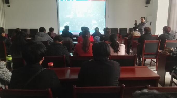 泰安肥城市组织全市妇联主席反邪教参观培训