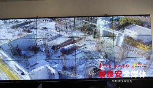 泰安建筑工地实现远程视频覆盖